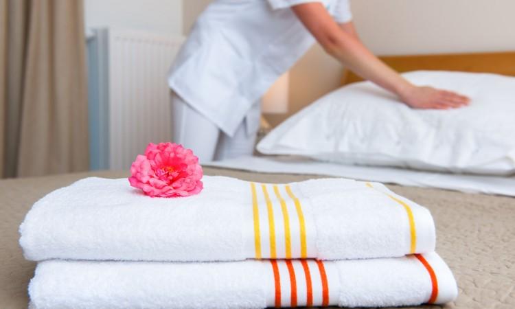 Limpieza de un hotel