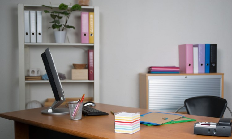 45777743 - small, simple and clean office interior