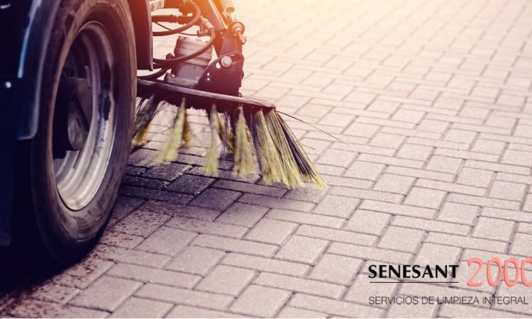 limpieza, suelos, garaje, senesant 2000
